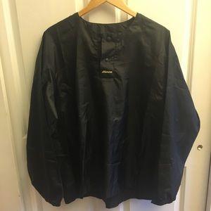 Men's Mizuno black wind jacket